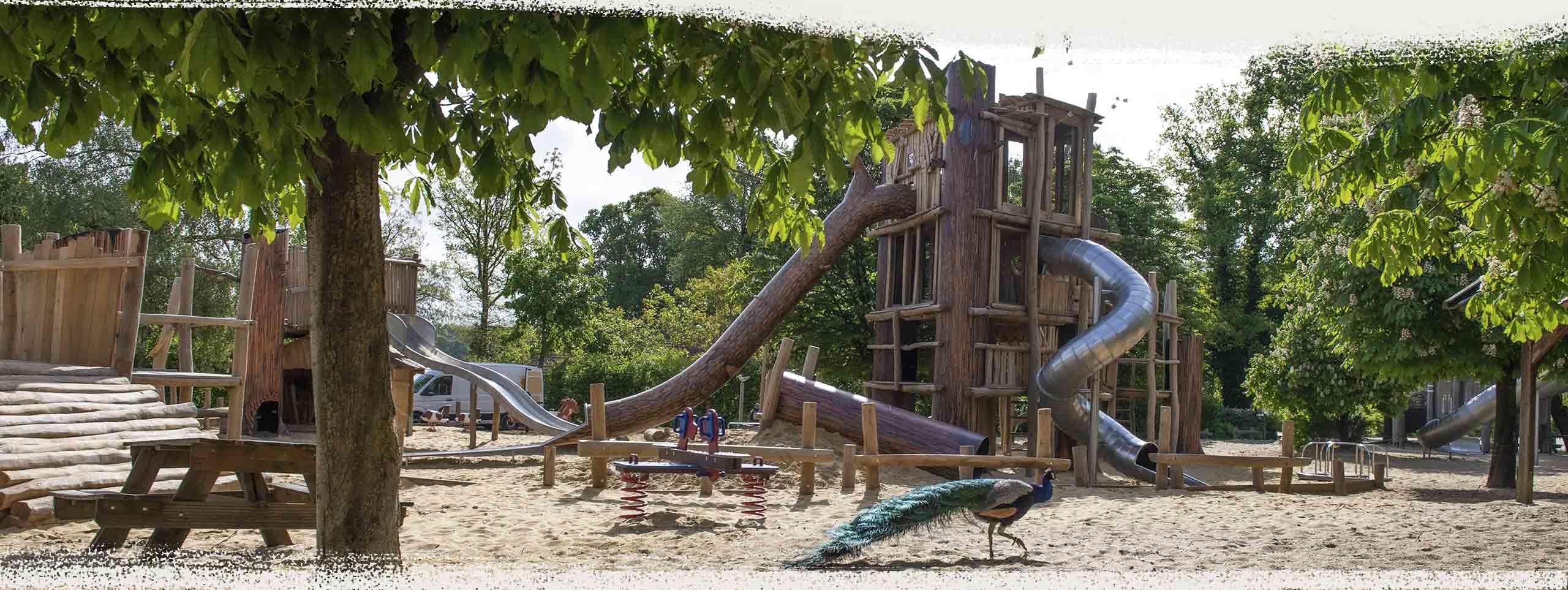 Freizeitpark, Spielwelten